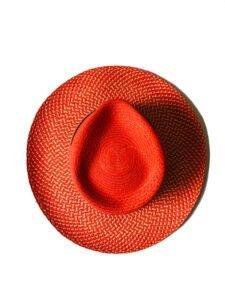 orange hat hand made